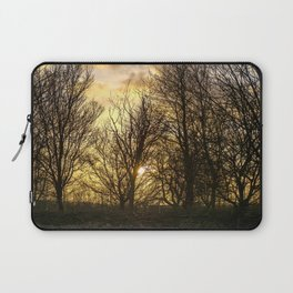 Sunset in the Woods Laptop Sleeve