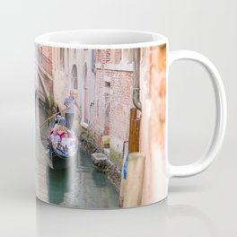 Exploring Venice by Gondola Coffee Mug
