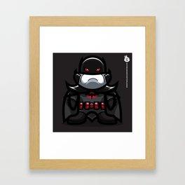 The Glorious Wayne Framed Art Print
