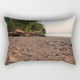 Beach (and) Wood Rectangular Pillow