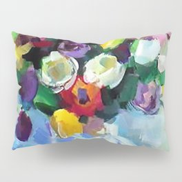 Still LIfe with Tulips Pillow Sham