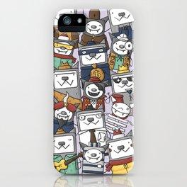 CATS'N'BATS iPhone Case