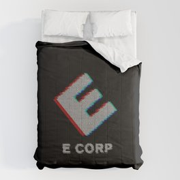 E-corp binary - mr. robot Comforters