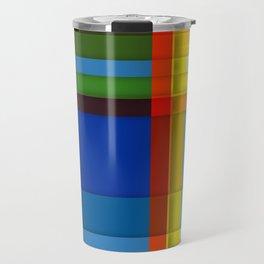 rectangle layers Travel Mug