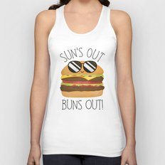 Sun's Out Buns Out! Unisex Tank Top