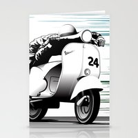 racing Stationery Cards featuring Racing by Don Paris Schlotman