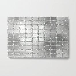 Mirror Wall Metal Print
