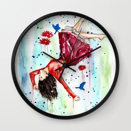 Immerse Yourself Wall Clock
