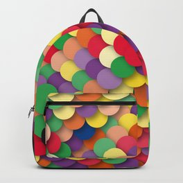 autumn circles Backpack