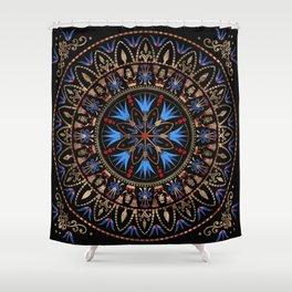 Circular Egyptian Ornament #1 Shower Curtain