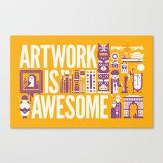 Artwork is ... Canvas Print