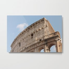 Colosseum in Springtime Metal Print