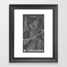 No Man Can Kill Me... Framed Art Print