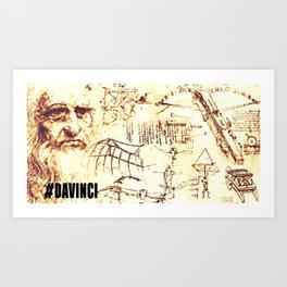 #DAVINCI Art Print