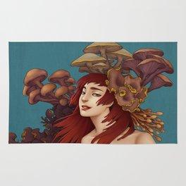 Mushroom Lady Rug