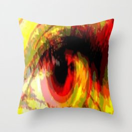 Past Vision Throw Pillow