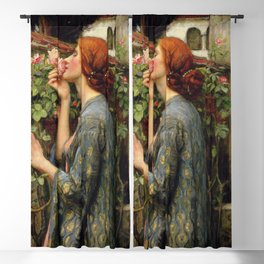 John Williams Waterhouse - The Soul of the Rose Blackout Curtain