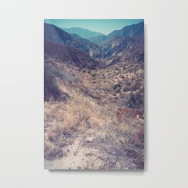 Into Angeles National Forest Metal Print