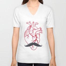 Hipster at heart Unisex V-Neck