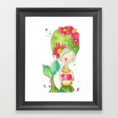 one mod merm. Framed Art Print