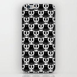 Skulls & Cats iPhone Skin
