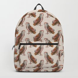 WITCH familiar owl pattern Backpack