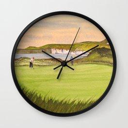 Royal Portrush Golf Course 5th Hole Wall Clock