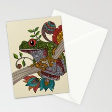 Phileus Frog Stationery Cards