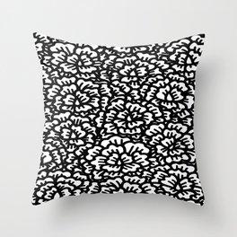KAOU {B+W} Throw Pillow