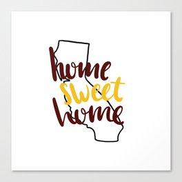Home Sweet Home California USC Canvas Print