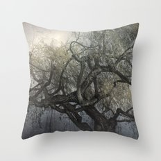The Whispering Tree Throw Pillow