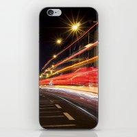 dublin iPhone & iPod Skins featuring Traffic, Dublin by Jennifer Hynes