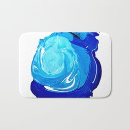 Paint Blob Bath Mat