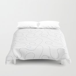 Celestial Stitches II Duvet Cover