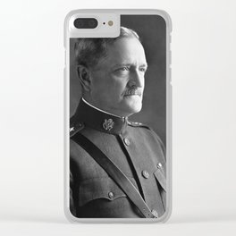 John J. Pershing - Commander of American Expeditionary Force Clear iPhone Case