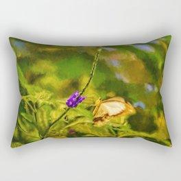 Flutterby World Rectangular Pillow