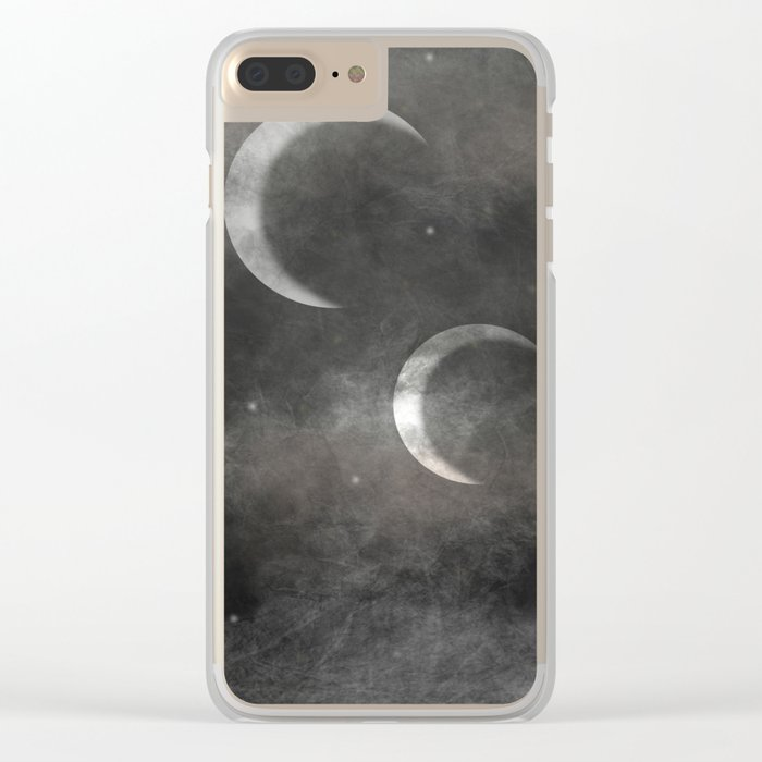 Mother of the Moons Clear iPhone Case