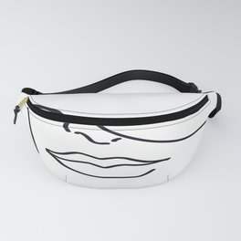 Face and lips Fanny Pack