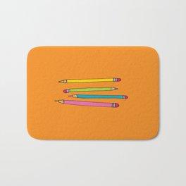 Many Pencils - My Trusted Tools Series  Bath Mat