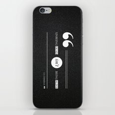 Dead or alive iPhone & iPod Skin