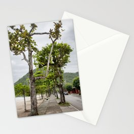 Street of Angra dos Reis (Brazil) Stationery Cards