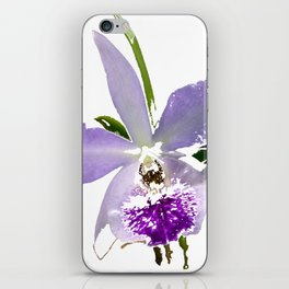 Purple Orchid iPhone Skin