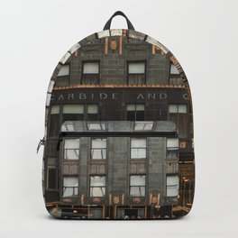Chicago with a touch of Gold Backpack