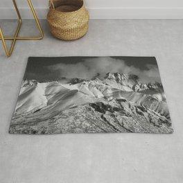Monochrome Mountain Rug