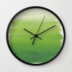 Greens No. 1 Wall Clock