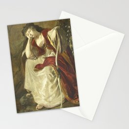 Chariclea, Anonymous, c. 1660 Stationery Cards