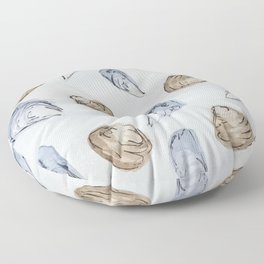 Mussels and Clams Floor Pillow