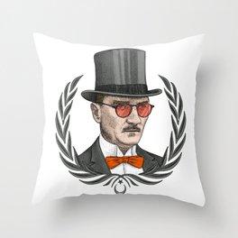 Mustafa Kemal Atatürk Throw Pillow