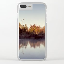 clear morning Clear iPhone Case