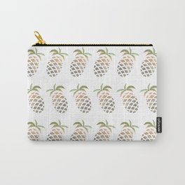 PINEAPLE PATTERN - PINA COLADA PARTY Carry-All Pouch